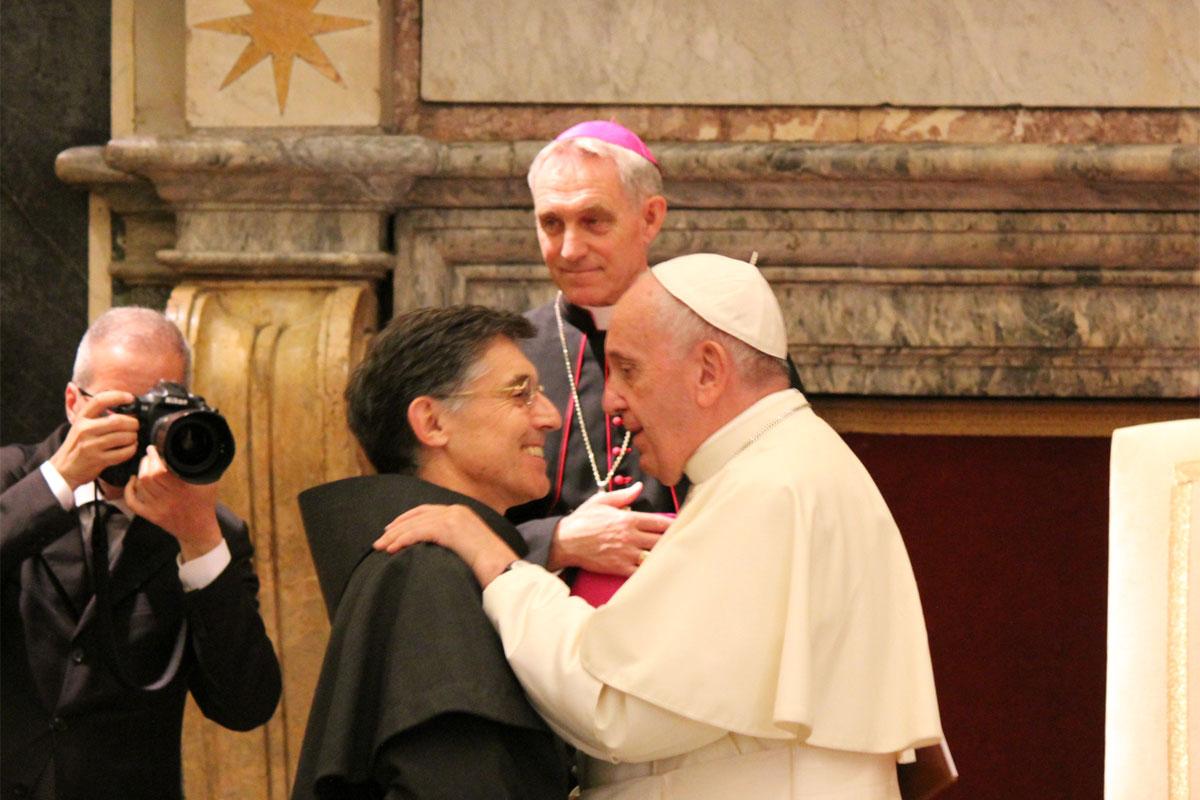Audiencja papieska 202. kapituła generalna Braci Mniejszych Konwentualnych