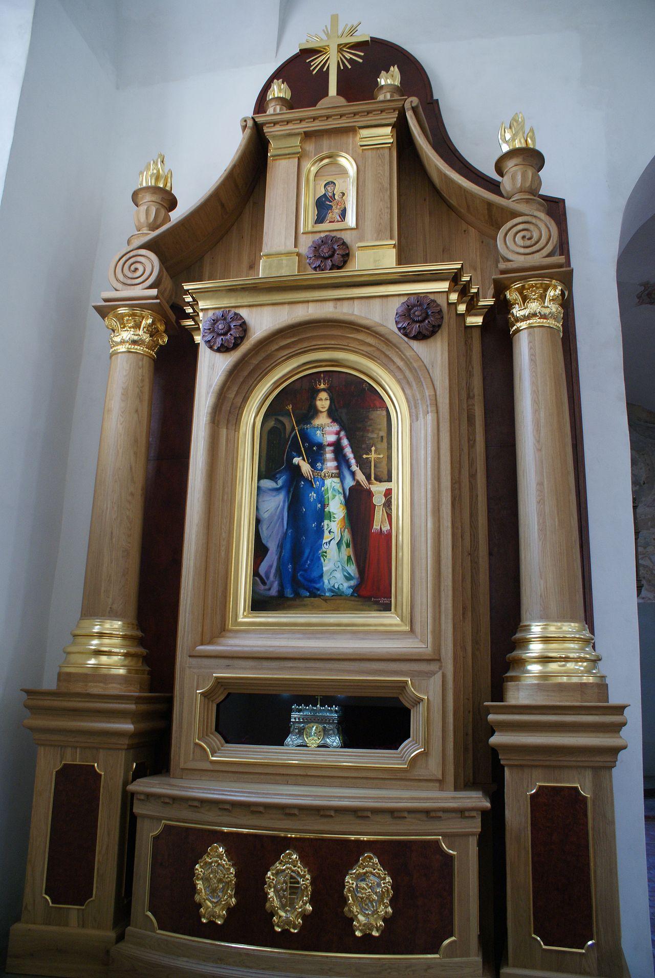 Ołtarz św. Jadwigi