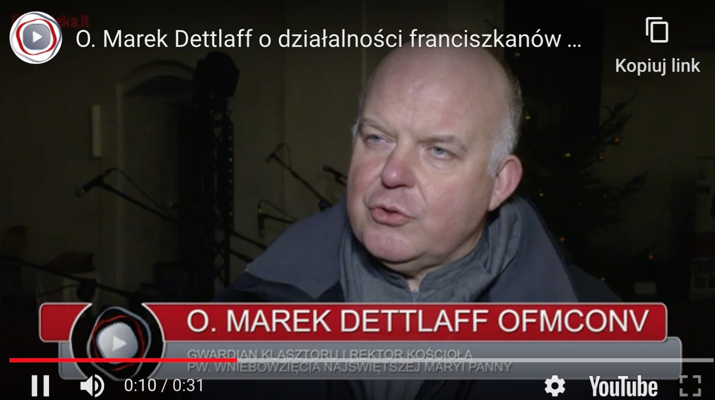 Franciszkanie w Wilnie planują kolejne projekty