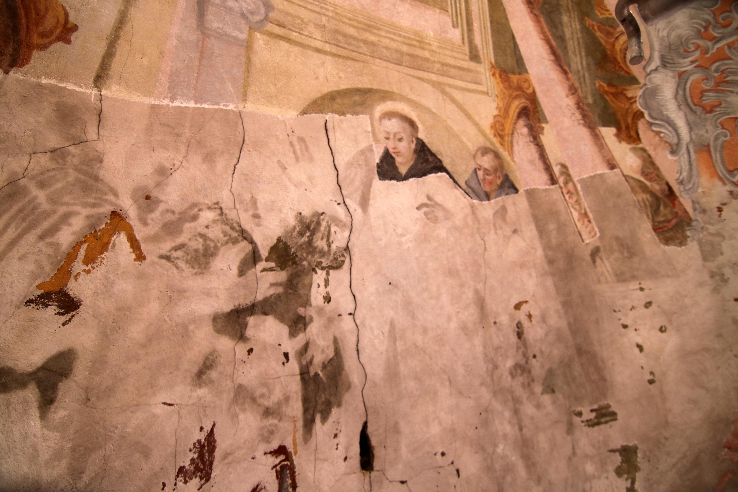 Zakończono tegoroczne prace konserwatorskie malowideł św. Antoniego