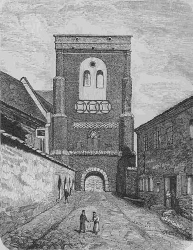 Vilnia, Piaski. Вільня, Пяскі (1882)